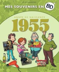 Sti et Jean Claudio Vinci - Mes souvenirs en BD  : Année de naissance 1955.
