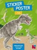 Maria Mähler - Sticker-Poster: Bei den Dinosauriern.