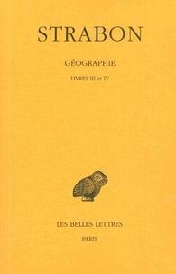 Strabon - Géographie - Tome 2, Livres III et IV (Espagne-Gaule).