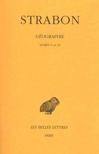 Strabon - Géographie - Tome 3, Livres V et VI (Italie-Sicile).
