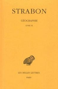 Strabon - Géographie - Tome 6, Livre IX (Grèce).