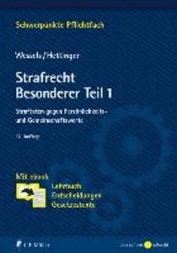 Strafrecht Besonderer Teil / 1 - Straftaten gegen Persönlichkeits- und Gemeinschaftswerte. Mit ebook: Lehrbuch, Entscheidungen, Gesetzestexte.