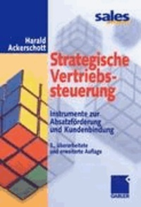 Strategische Vertriebssteuerung - Instrumente zur Absatzförderung und Kundenbindung.