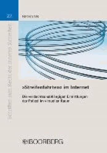 """""""Streifenfahrten"""" im Internet - Die verdachtsunabhängigen Ermittlungen der Polizei im virtuellen Raum."""
