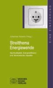 Streitthema Energiewende - Nachhaltigkeit, Energieeffizienz und ökonomische Aspekte.