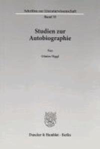 Studien zur Autobiographie.