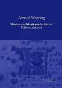 Studien zur Musikgeschichte der Frührenaissance.