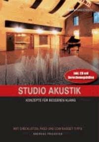 Studio Akustik - Konzepte für besseren Klang.