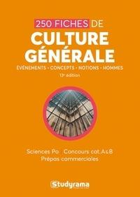 Goodtastepolice.fr 250 fiches de culture générale - Sciences po, concours cat A & B, prépas commerciales Image