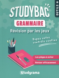 Studyrama - Grammaire - Révision par les jeux.