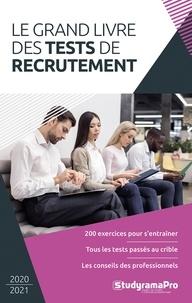 Studyrama - Le grand livre des tests de recrutement.