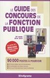 Studyrama - Le guide des concours de la fonction publique.