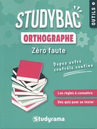 Studyrama - Orthographe - Zéro faute.