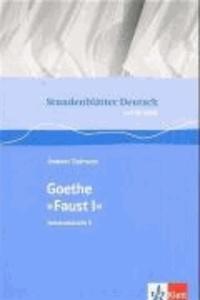 Stundenblätter Goethe Faust 1.Mit CD-ROM für Windwos95/98/NT/XP,MS Word ab Version 97.