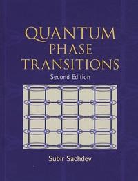 Quantum Phase Transitions - Subir Sachdev |