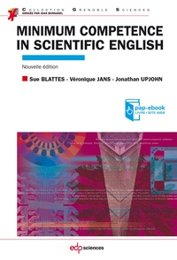 Sue Blattès et Véronique Jans - Minimum competence in scientific english.