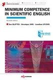 Sue Blattès et Véronique Jans - Minimum competence in scientific english - Pap-ebook.