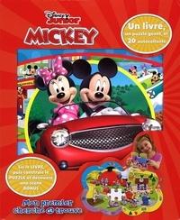 Sue DiCicco et LeeAnn DiCicco - Mickey - Coffret Livre + Puzzle + 20 autocollants.