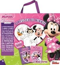 Sue DiCicco et  The Disney Storybook Artists - Minnie - La boutique de Minnie, 2 mini-livres et plus de 500 éléments.