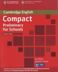 Sue Elliott - Compact Preliminary for Schools - Teacher's Book.