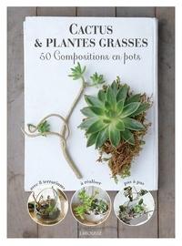 Histoiresdenlire.be Cactus et plantes grasses - 50 compositions en pots Image