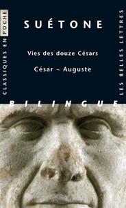 Suétone et Henri Ailloud - Vies des douze Césars - César - Auguste, édition bilingue français-latin.