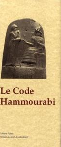 Sumero-Akkadien V. Scheil - Le code Hammourabi.