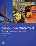 Sunil Chopra - Supply Chain Management - Strategy, Planning, and Operation.