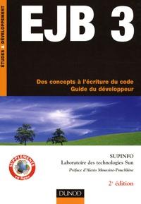 EJB 3- Des concepts à l'écriture du code - Guide du développeur -  Supinfo pdf epub