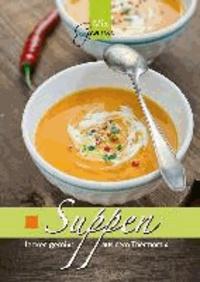 Suppen lecker gemixt - aus dem Thermomix.