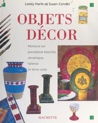 Susan Conder et Lesley Harle - Objets décor - Peinture sur porcelaine blanche, céramique, faïence et terre cuite.
