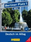 """Susan Kaufmann et Margret Rodi - Berliner Platz 1 NEU - Lehr- und Arbeitsbuch 1 mit 2 Audio-CDs und """"Im Alltag EXTRA"""" - Deutsch im Alltag."""