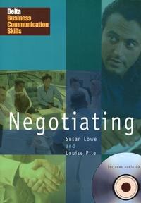 Susan Lowe et Louise Pile - Negotiating. 1 CD audio