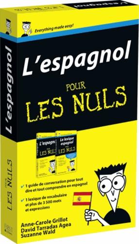 Susana Wald - Pack l'espagnol pour les nuls en deux volumes - L'espagnol pour les nuls ; Le lexique espagnol pour les nuls.
