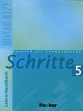 Susanne Kalender et Petra Klimaszyk - Schritte 5 - Lehrerhandbuch.