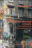 Susanne Müller - L'inquiétante étrangeté à l'oeuvre - Das Unheimliche et l'art contemporain.