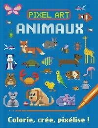 Susie Linn et Barry Green - Animaux - Colorie, crée, pixélise.