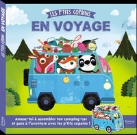 Susie Linn et Olive May Green - Les p'tits copains en voyage - Mon premier livre-puzzle.