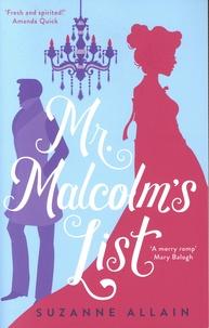 Suzanne Allain - Mr. Malcolm's List.
