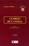 Suzanne Antoine - Le droit de l'animal.