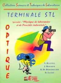 Suzanne Beaufils - Optique Terminale STL option physique des laboratoire et de procédés industriels.