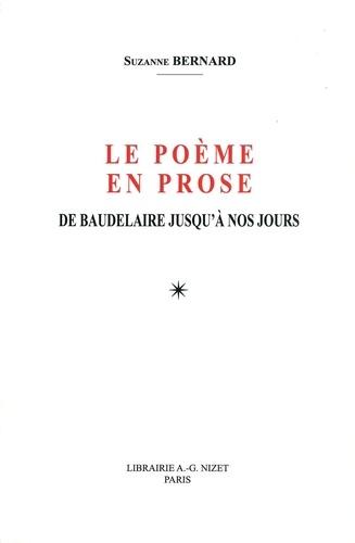 Le Poème En Prose De Baudelaire Jusquà Nos Jours Grand Format