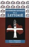 Suzanne Champonnois et François de Labriolle - Dictionnaire historique de la Lettonie.