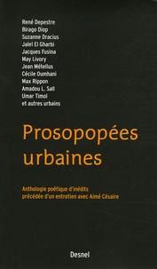 Suzanne Dracius et René Depestre - Prosopopées urbaines.