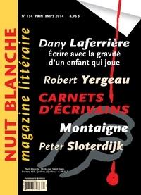 Suzanne Leclerc et Simon Roy - Nuit blanche, le magazine du livre. No. 134, Printemps 2014.