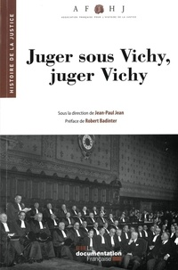 Suzanne Maury - Juger sous Vichy, juger Vichy.