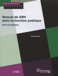 Suzanne Maury - Manuel de GRH dans la fonction publique.