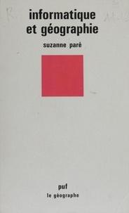 Suzanne Pare - Informatique et géographie.
