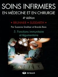 Histoiresdenlire.be Soins infirmiers en Médecine et en Chirurgie - Tome 5, Fonctions immunitaire et tégumentaire Image