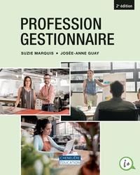 Profession gestionnaire - Suzie Marquis pdf epub